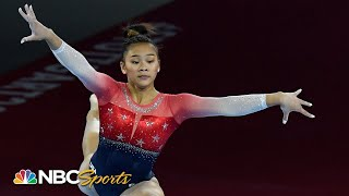 Suni Lee's terrific performances help USA win world championship gold | NBC Sports