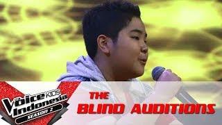 "Ryan ""Dari Mata""   The Blind Auditions   The Voice Kids Indonesia Season 2 GlobalTV 2017"