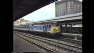 preview picture of video 'Trains In The 1980's   Reading & London Paddington, June 1989'