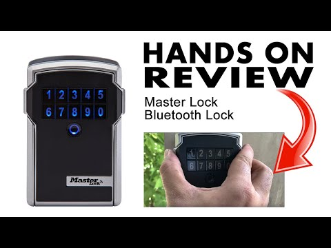 Master Lock Lock Box Bluetooth Wall Mount Key Safe Review – AdmirD