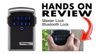 Master Lock Lock Box Bluetooth Wall Mount Key Safe Review - AdmirD
