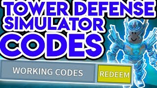 codes for tower defense simulator - TH-Clip