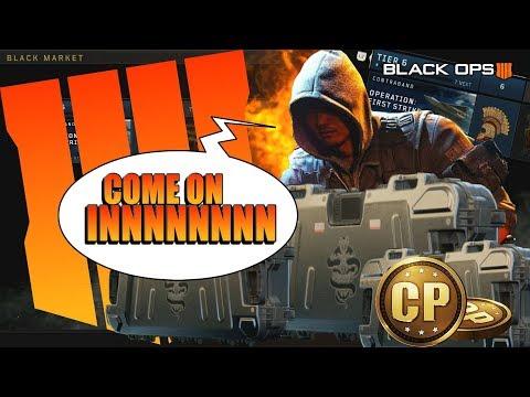 Black Ops 4: NEW Blackmarket & Battle Pass Max Rewards!