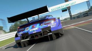 GT Sport - Top 3 Qualifying Lap GR.2 // Honda NSX @ Suzuka 1.48,493