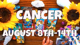 CANCER YOU VS THEM AUGUST 8TH-14TH LOVE TAROT THEY'RE CRAZY OVER YOU