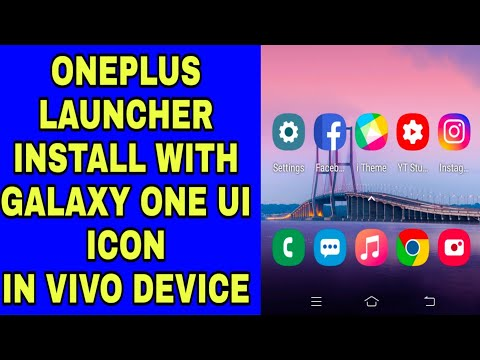 Install the theme and launcher of vivo v11 pro on any android phone