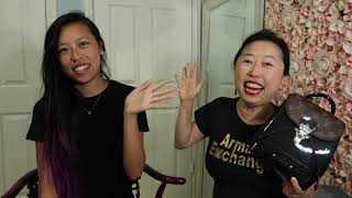 LOUIS VUITTON UNBOXING WITH MY DAUGHTER