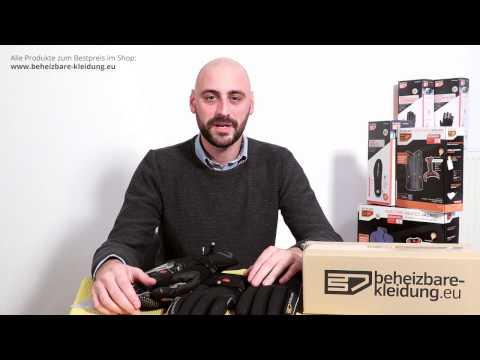 Beheizbare Fahrrad Handschuhe von 30seven –Made in EU