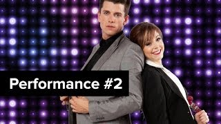 Lindsey Stirling Plays Violin While Dancing? Challenge Accepted! On D-Trix Presents Dance Showdown 3