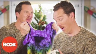Бенедикт Камбербэтч, Benedict Cumberbatch Teaches How to React to Bad Xmas Gifts | The Hook