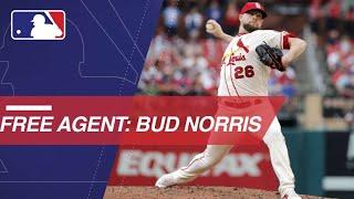 Bud Norris Set To Enter Free Agency This Offseason