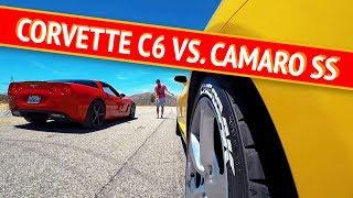 Corvette n1ckyrush vs. Camaro SS Чердака. Кто кого? Тест драйв e34, e46, 350z дрифт и копы!