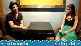 Нина Добрев и Йен Сомерхолдер, Ian Somerhalder | Part1 (RUS by Kotov)