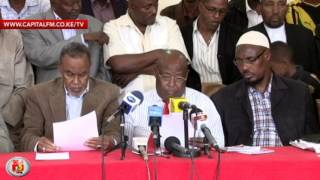 Marsabit leaders agree on peace plan