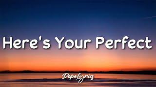 Here's Your Perfect - Jamie Miller (Lyrics) 🎵