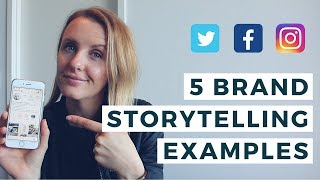 5 BRAND STORYTELLING EXAMPLES (What is Brand Storytelling?) / EP 16