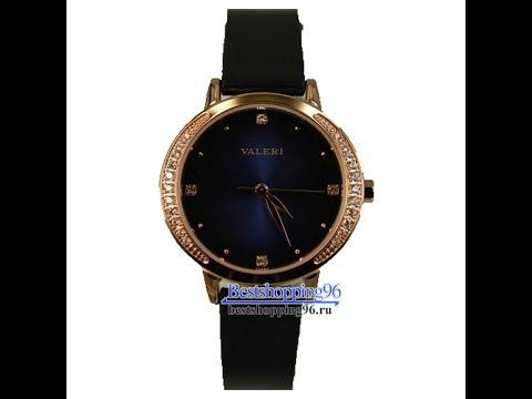 Видео обзор женских ювелирных часов VALERI l8316L