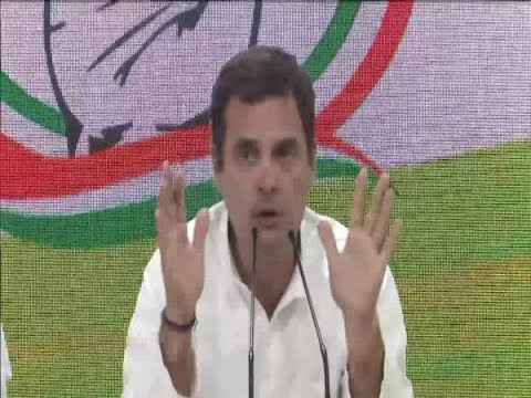 Unprecedented': Rahul Gandhi Mocks PM Modi For First Press