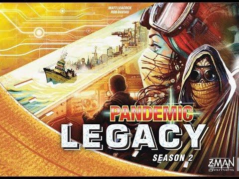 Pandemic Legacy: Season 2 - A Forensic Gameology Review