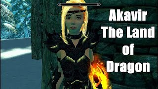 Skyrim Mod: Akavir The Land of Dragon