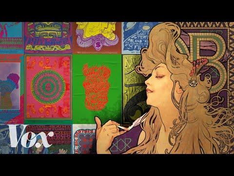 Kde se vzal psychedelický vzhled 60. let