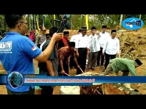 Pringsewu - Peletakan Batu Pertama Pondok Pesantren Miftahul falah 09 Pekon Sukoharjo IV