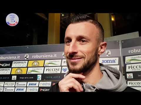Robur Siena-Novara 1-1: Sbrissa, Guberti e Mignani
