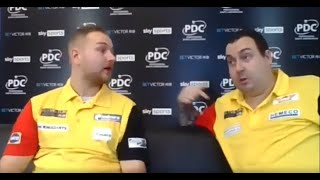 """Kim Huybrechts: """"Not a happy man"""" after """"worst Belgium performance"""" at the PDC World Cup"""