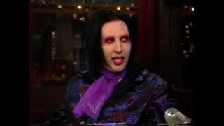 Marilyn Manson- David Letterman 1998 (First appearance)