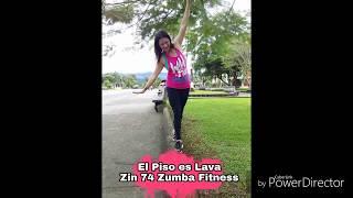 El Piso Es Lava - Zumba - ZIN 74