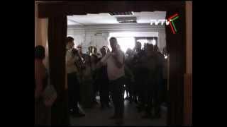 preview picture of video 'Tábori induló - bevonulás - II. Hagyományőrző Népzenei Tábor - Tiszafüred'