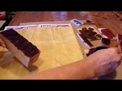 DIY-Druck Werkstatt: Tolle Stoffe BEDRUCKEN; Stempel basteln, kinderleicht SELBER MACHEN; How to