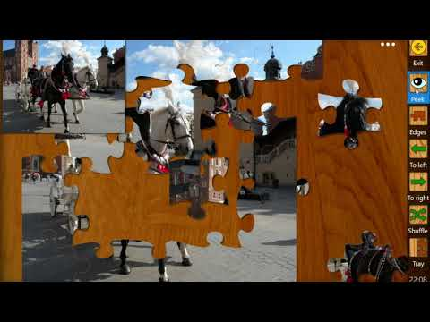 Watch Peek at the puzzle image tutorial on YouTube