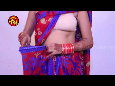 How to Wear Saree in Modern Style for Bride
