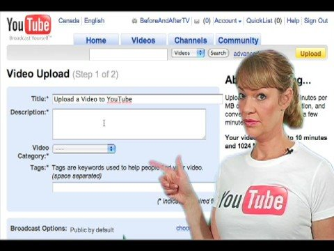How to Upload Video on You Tube