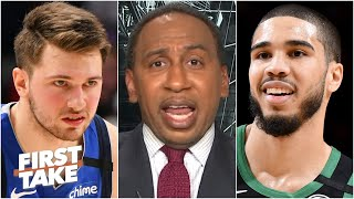 Stephen A. thinks Jayson Tatum, not Luka Doncic, will become the NBA's best player | First Take
