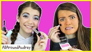 Dollar Store Full Face Makeup Challenge / AllAroundAudrey
