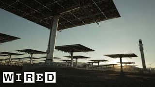Download Youtube: Crescent Dunes Solar Energy Project Part 2: Building the Power Plant-The Window-WIRED
