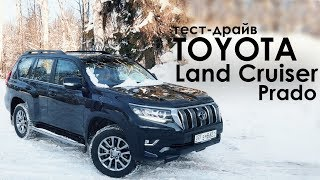 Toyota Land Cruiser Prado. Фэмили Драйв