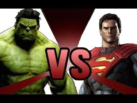HULK vs SUPERMAN Cartoon Fight Club Episode 4