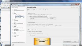 SAP HANA Administration Tutorial 3 - Configuring SAP HANA Studio for Updates