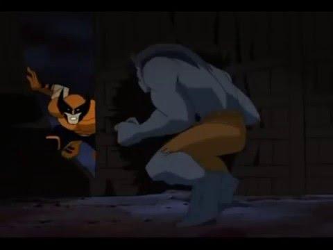X Men Evolution Wolverine Vs  Beast Parts 1 2