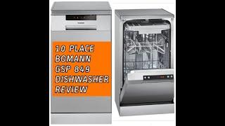 sitso Loading a dishwasher. BOMANN GSP 849 10 PLACE DISHWASHER REVIEW.