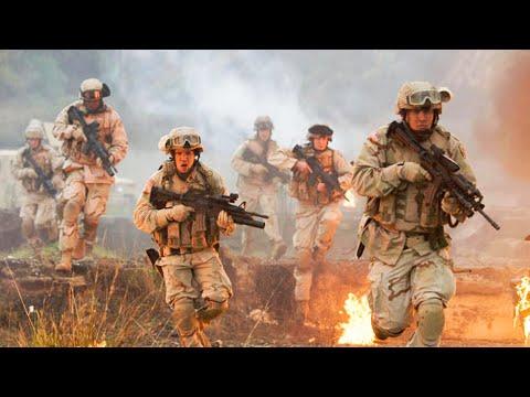 美军遭伊拉克悍匪挑衅,身陷埋伏之中,只能拿枪与敌军血战到底!《拒绝再战》