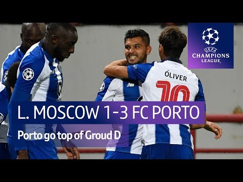 Lokomotiv Moscow vs FC Porto (1-3) UEFA Champions League highlights видео