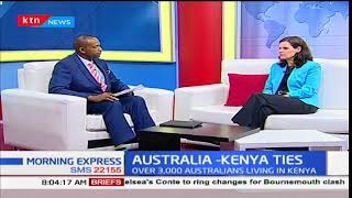 Diplomatic relations between Australia and Kenya-High Commissioner, Ms Alison Chartres: The Newsroom
