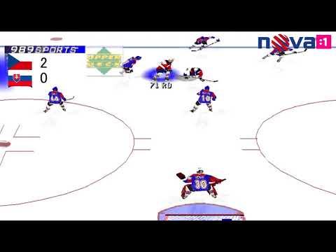 História NHL | Slovensko : Česko | Finále MS2000