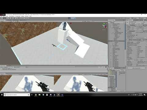 How To Implement Walking And Jumping In Unity SteamVR | Wire