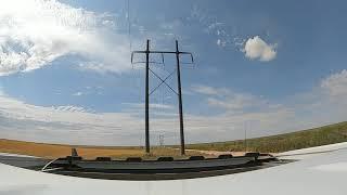 Beginner fpv freestyle around high voltage power lines