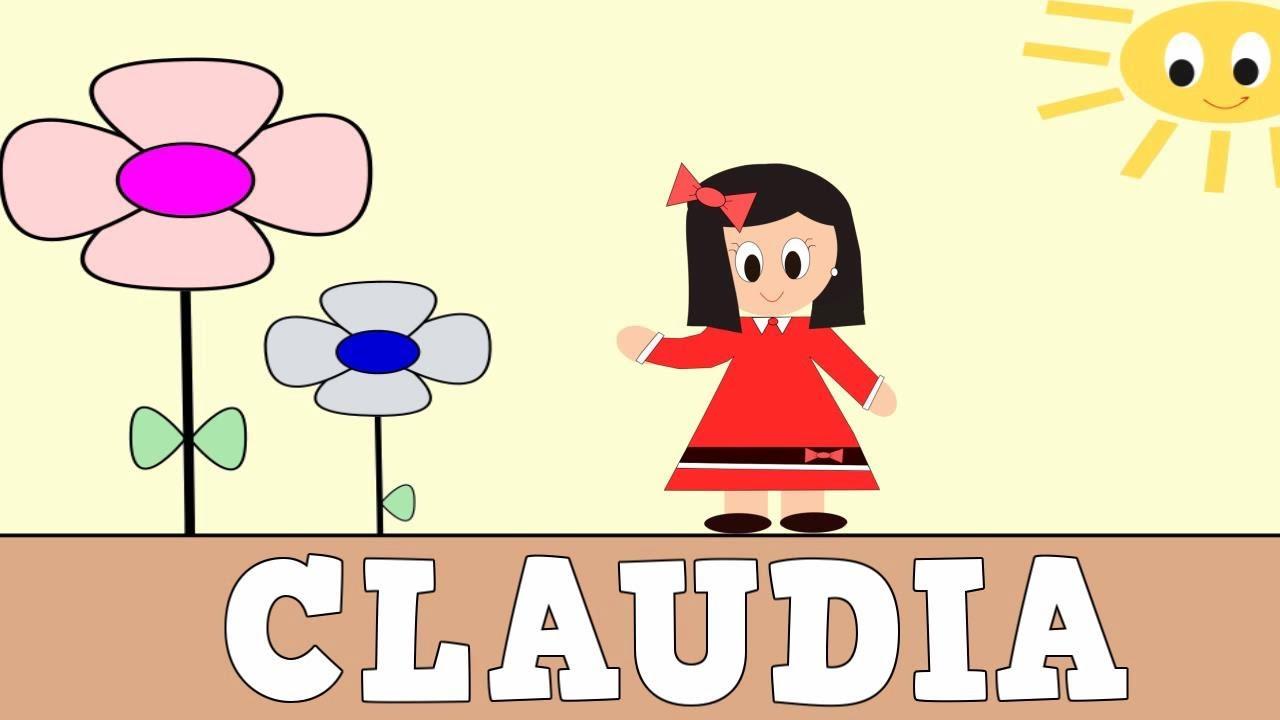Aprender a Leer y Escribir CLAUDIA - Vídeos educativos para Niñosy Bebés - Paty y Poty